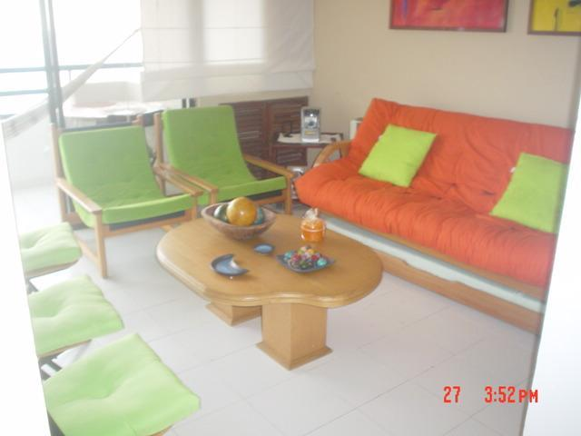 Living Room - Small & cozy. One bed room apartment in El Laguito - Cartagena - rentals