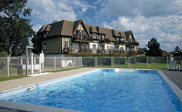 Nice Holiday Flat with heated outdoor pool  - max 4 people - FR-1070994-Varaville - Image 1 - Varaville - rentals