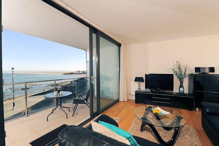 Views from the living area - On The Rocks, Horizon View - Westward Ho - rentals