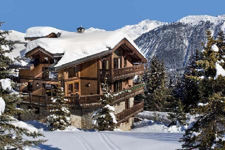 Chalet Tsuga - Le Kilimandjaro, Ski-In Ski-Out Beauty with WiFi and Home Theatre - Image 1 - Courchevel - rentals