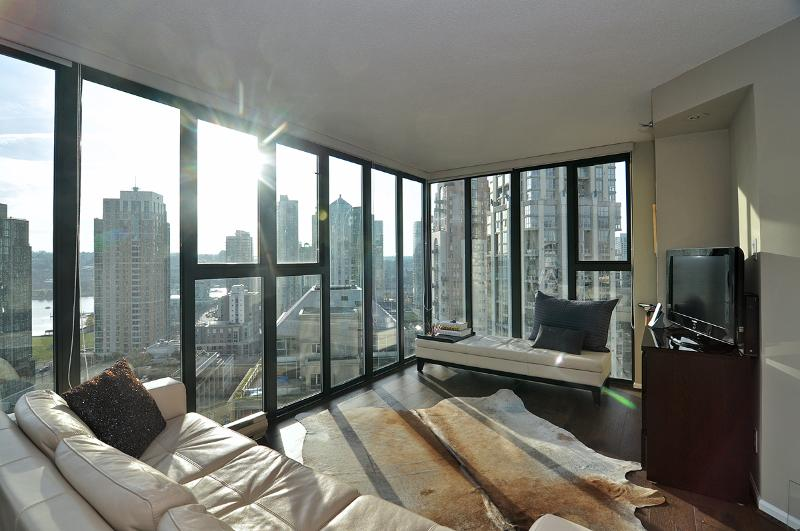 Terrific Downtown Vancouver 1 Bedroom Condo Walk to All Amenities - Image 1 - Vancouver - rentals