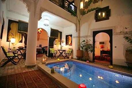 Riad Eloise Morocco Medina authentic house - Image 1 - Marrakech - rentals