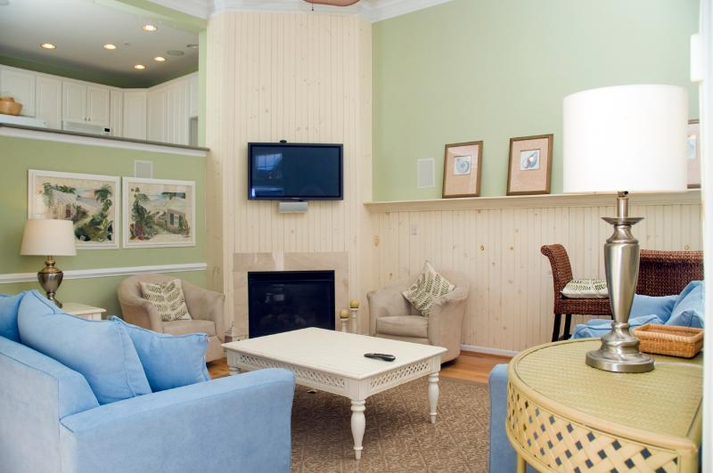 Family Room with Queen Sleep Sofa - Former Model Home - Well Behaved Dogs Welcome - Ocean View - rentals