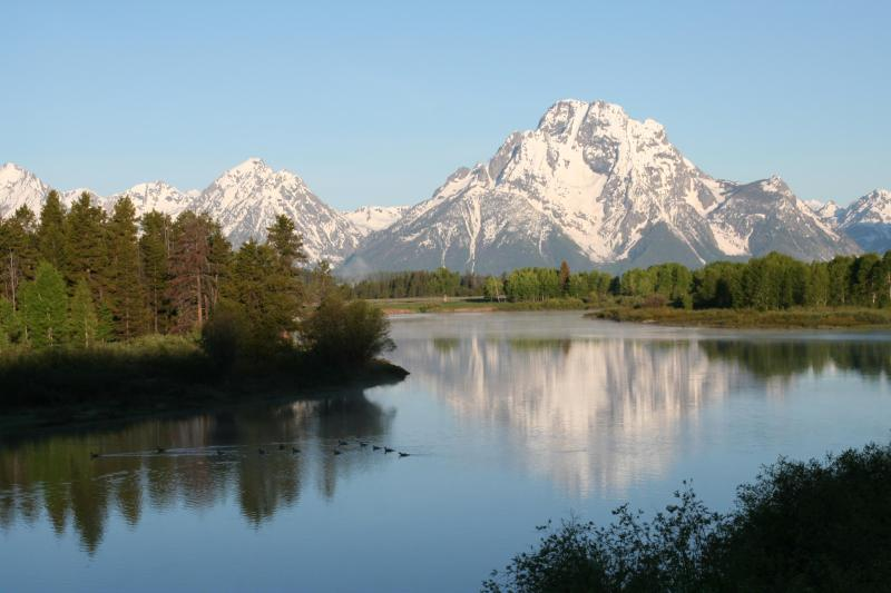 Tetons in springtime - Four Seasons Residence Club Condo Jackson Hole, WY - Teton Village - rentals