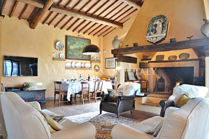 Cottage Delle Tolfe - Windows On Italy - Image 1 - Siena - rentals