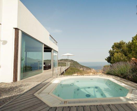 pool - Luxury Ibiza Design Villa Cap Rubio- seafront - Ibiza - rentals