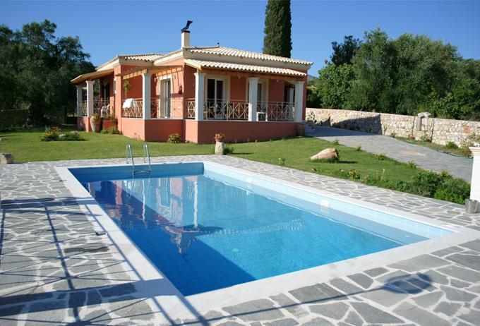 Villa Grecia - Private pool villa in Corfu from 180€/night - Paleokastritsa - rentals
