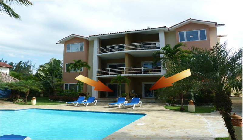 Ocean Dream Phase 4 unique beachfront 4bdr apt 2+2 - Image 1 - Cabarete - rentals