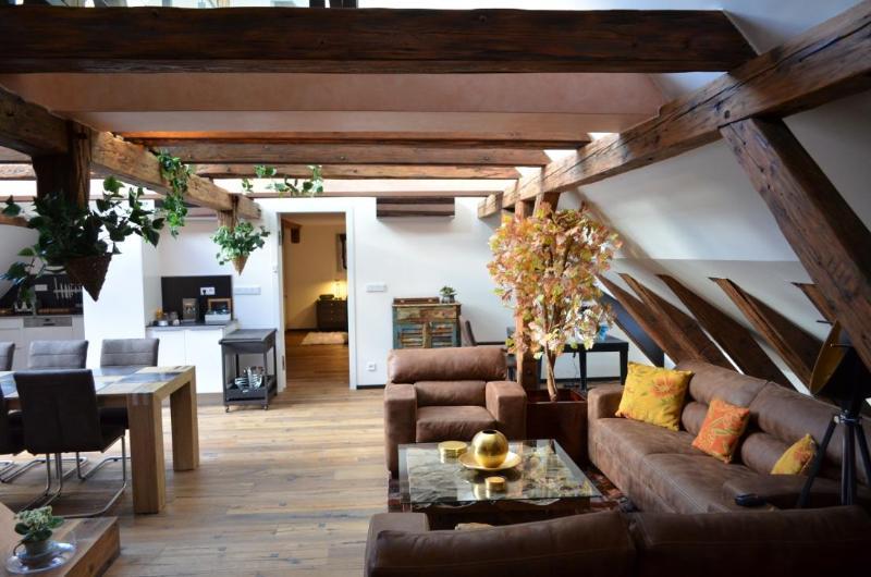 Living room - Luxury Collection - Attic Trziste - Attic Trziste - Iconic three bedroom apartment - Prague - rentals