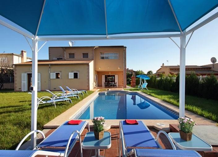 Moderna villa con tranquila situación en Sa Pobla (8 plazas) Ref.29781 - Image 1 - Sa Pobla - rentals