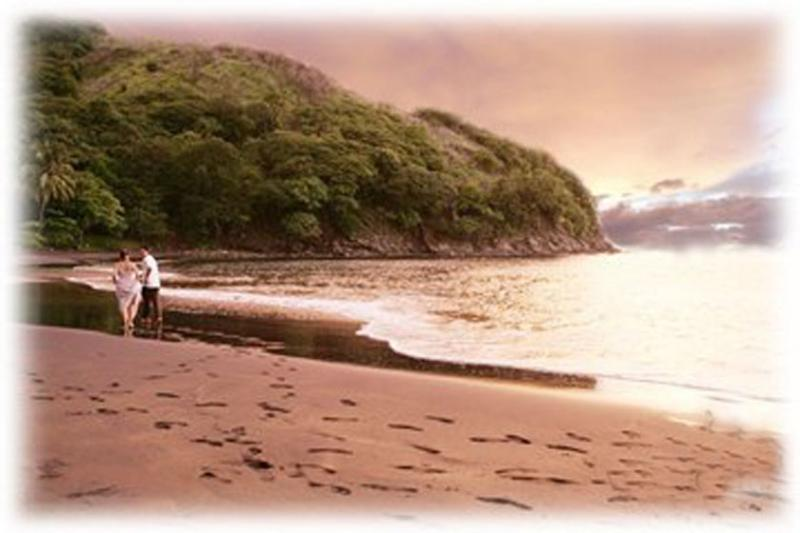 Our secluded black sand beach - Costa Rica Villa ....peaceful beach retreat - Playa Ocotal - rentals