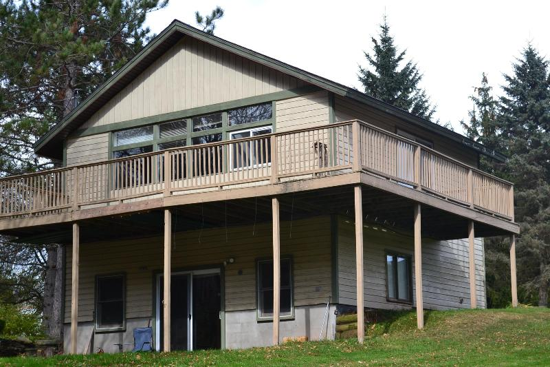Two Bedroom Cottage (back view) - Mountain Treasure  Cottage, WIndham, NY - Windham - rentals