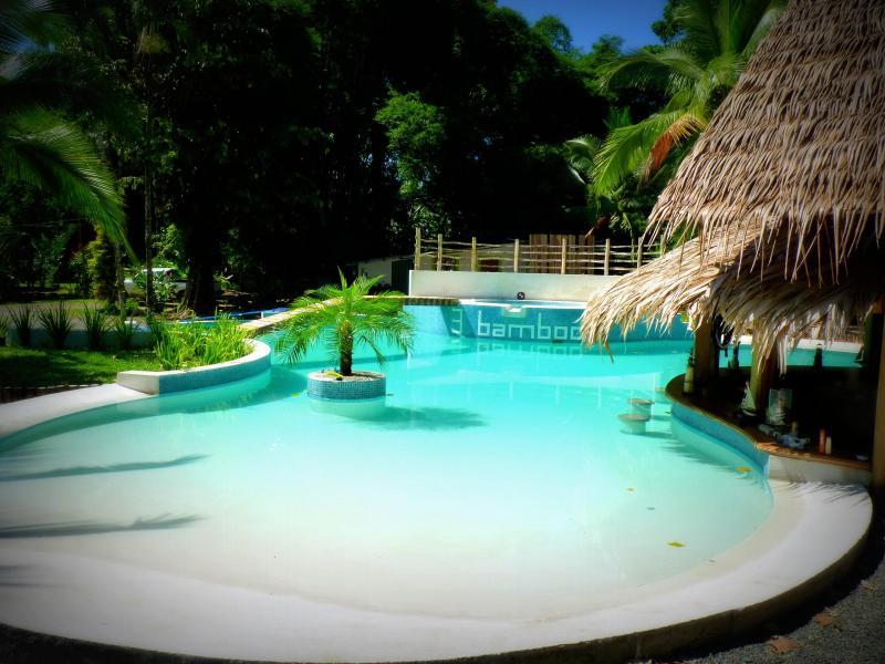 swimming pool - 3 Bamboo Villa tropicale Cahuita - Cahuita - rentals