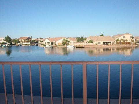 View from balcony - Lakefront Villa with awesome lake views - Peoria - rentals
