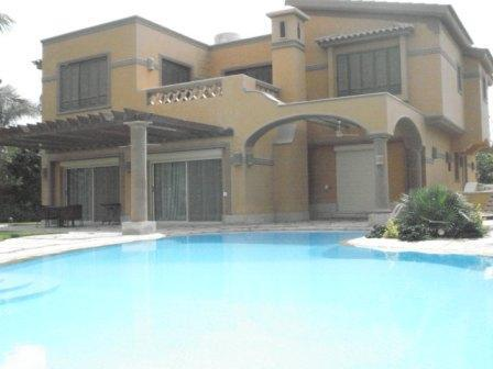 Rent villa 4 bedrooms with swimming pool at palm hills - Image 1 - Egypt - rentals