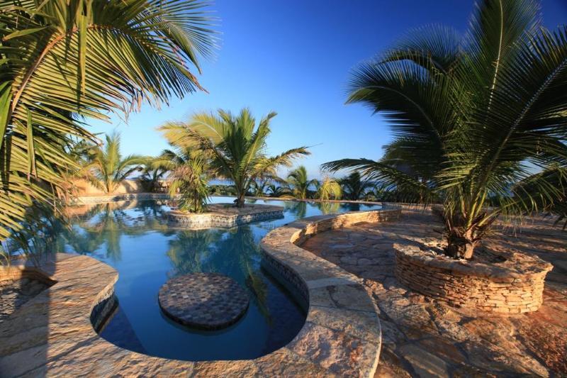 Pool - Yucatan Beachfront Villa - Telchac Puerto - rentals