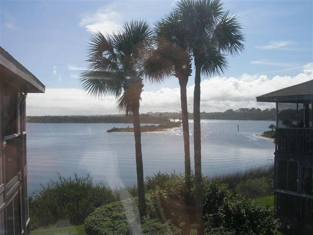 View of Intracoastal and Silver Lake - Wonderful Waterfront Condo - Flagler Beach - rentals