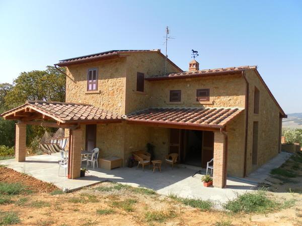 Main View of the Villa - Casa Marigo - A Tuscan Style Villa - Volterra - rentals