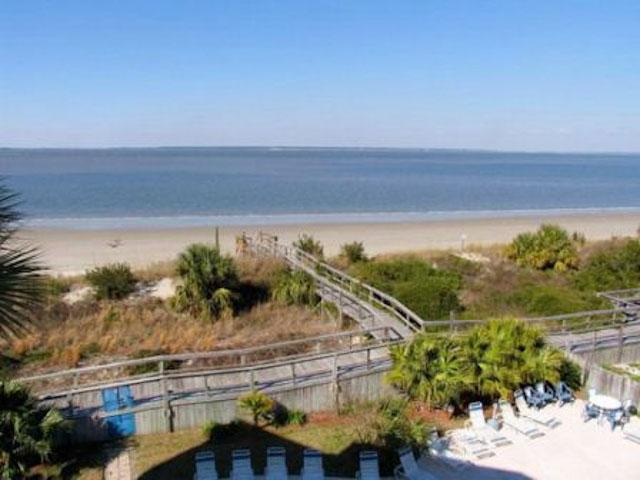 view from balcony - Tybee Time - prices listed may not be accurate - Tybee Island - rentals