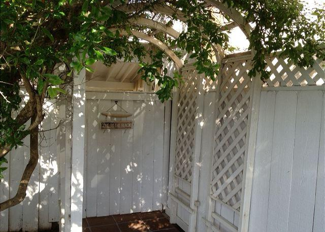 Private Gate to Front Door Entry - Leucadia Guest Cottage - Walk to Beach - Encinitas - rentals