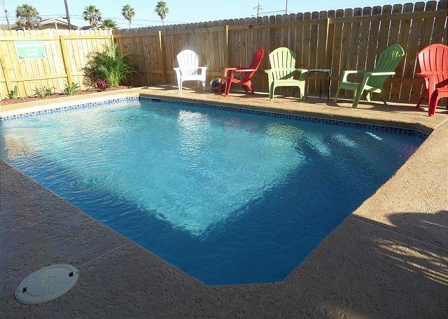 El Capitan's Private Pool - El Capitan BRAND NEW rental, PRIVATE POOL and PET FRIENDLY! 4/4 Sleeps 14!!! - Port Aransas - rentals
