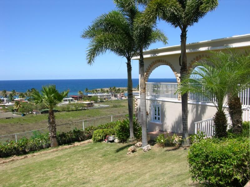 House on hill with panoramic ocean views - La Villa Aguila: 2-story vacation beach home - Camuy - rentals