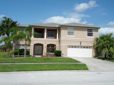 Front view of the house - 5 BR House W/ Pool & Hot Tub - Close to Disney!! - Kissimmee - rentals