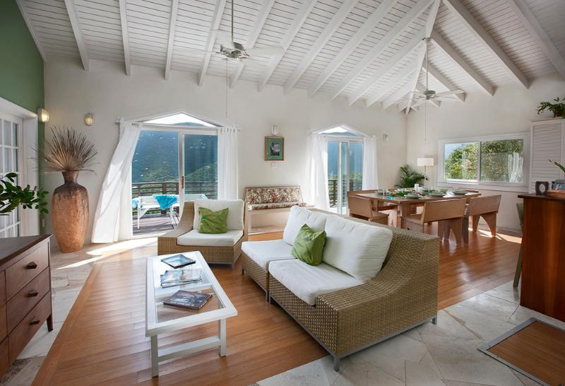 Breezy, spacious great room   - Sail View - Coral Bay - rentals