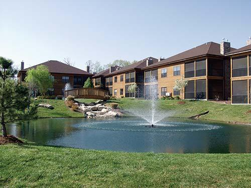 Outside of Resort with Man-made Pond - Beautiful Studio Condo in the Branson Woods - Branson - rentals