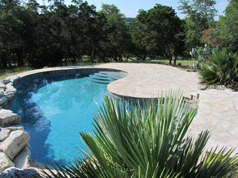 Your very own private, salt water pool, set on 2 acres. - San Antonio Home on 2 Acres with Private Pool - Hollywood Park - rentals