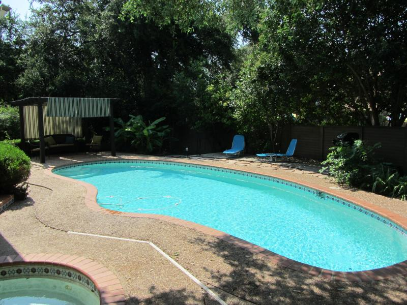Our favorite part.  The pool and cabana! - San Antonio Family Home with Private Pool & Cabana - San Antonio - rentals