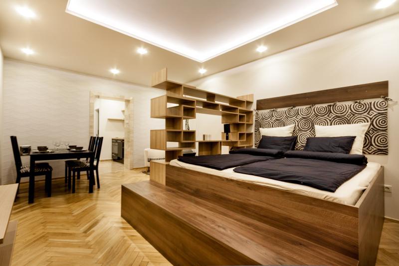 Luxury designer apartment next to Gellert Spa panoramic view to Liberty Bridge - Image 1 - Budapest - rentals