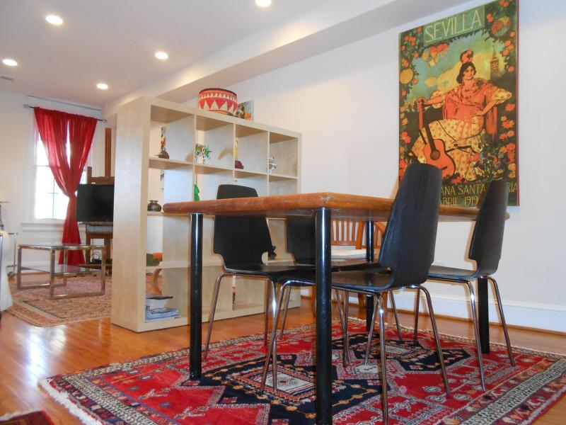 Dinning Area View 3 - Georgetown / Foggy Bottom- Near Metro - walking Distance to Mall, Museums,  & Kennedy Center - Washington DC - rentals