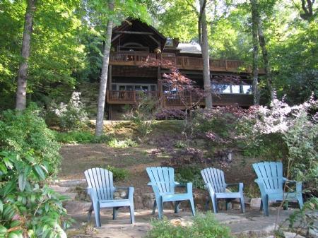 View from Lake Glenville - Carolina Charm - Glenville - rentals