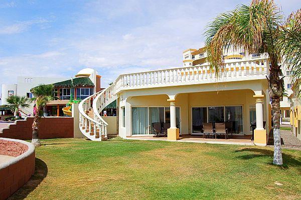 Rear of Villa - Las Palmas Beachfront Resort Poolside VIlla - Puerto Penasco - rentals