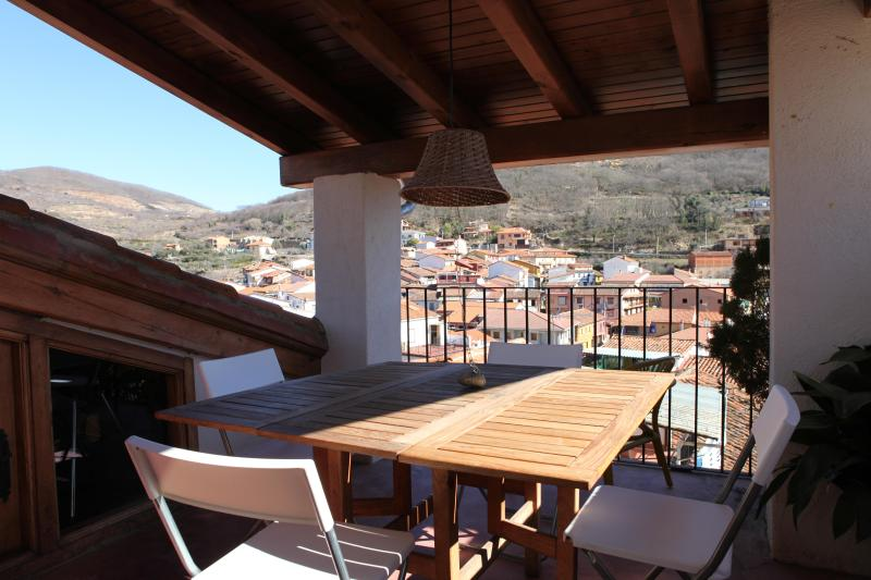 Terrace - Charming rural house with big terrace - Pasaron de la Vera - rentals