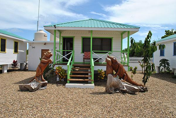 Green Iguana Cabana at Latitude Adjustment in Hopkins Belize - Latitude Adjustment - Green Iguana Cabana - Hopkins - rentals