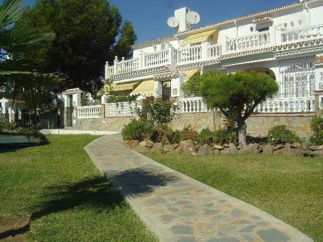 Garden - 2 line beach Rincón de la Victoria,WIFI,A/A,pool - Rincon de la Victoria - rentals