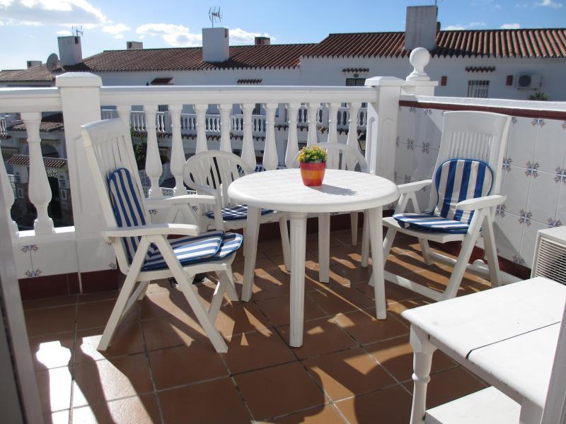 Terrace Above 1º floor - 2 line beach Rincón de la Victoria,WIFI,A/A,pool - Rincon de la Victoria - rentals