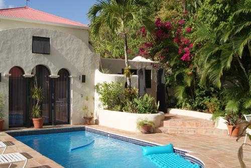 Pool / Guest Cottage - Beachview Villa - Road Town - rentals