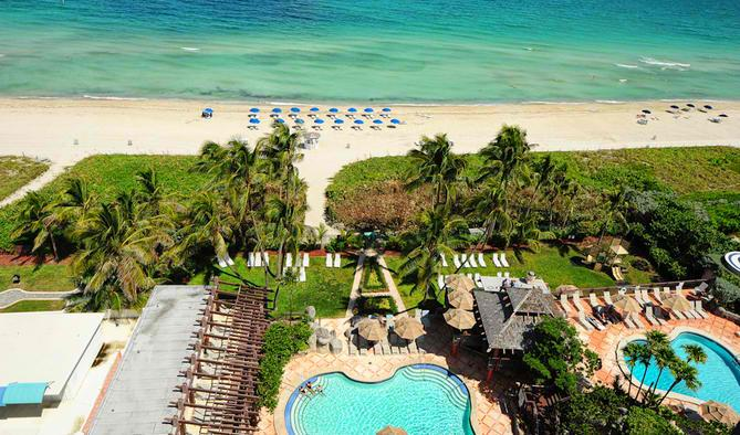 Spacious Oceanfront Deluxe Two Bedroom Suite w/ Balcony! 1AX2GZG - Image 1 - Miami Beach - rentals