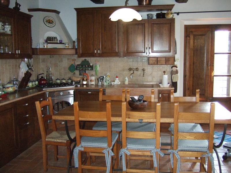 cucina - Casa Crevole in Val di Merse - Murlo - rentals