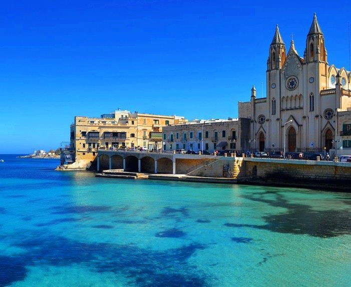 Balluta Bay - Just a few metres away! - Blue Waters 3 Bedroom Apartment in Sliema - Sliema - rentals