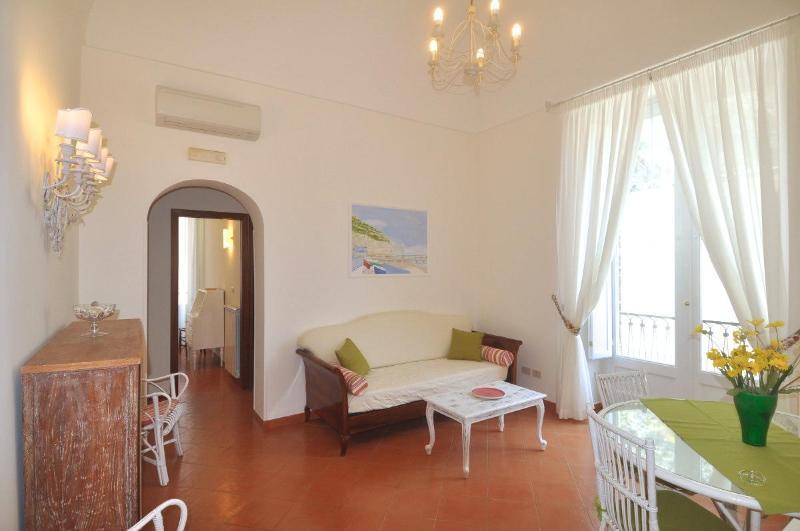 Living Room - Braschi - Stylish two bedrooms apartment - Minori - rentals