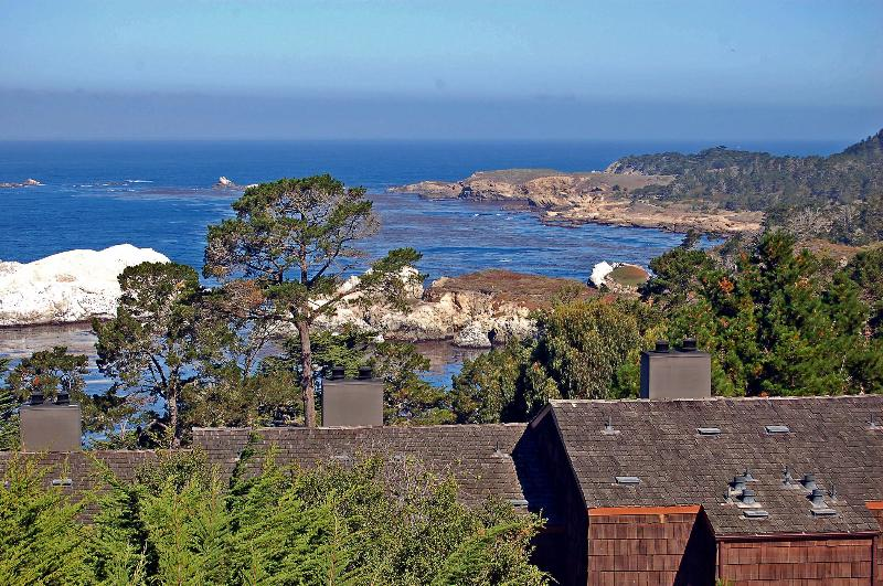 Views of the water from the balcony - Hyatt Carmel Highlands Ocean Views 1 & 2 Bedrooms - Carmel - rentals