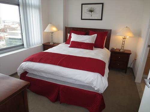 Bedroom - Lux 1BR Cambridge Apt by MIT - Cambridge - rentals