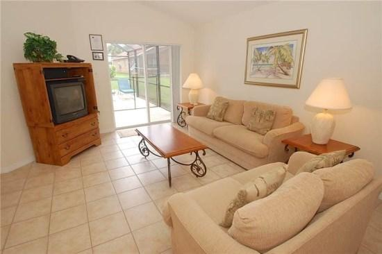 Sitting Area - S4P110SA Elegant Vacation Home in Solana Resort near Famous Theme Parks - Davenport - rentals