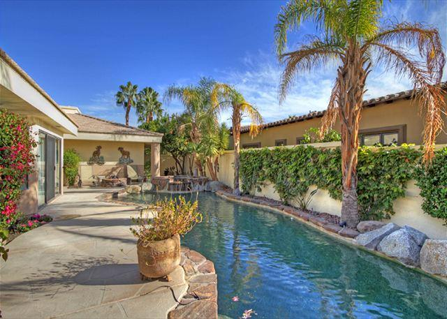 Court Yard - Amazing Lake and Mountain View with a Private Pool & Spa - La Quinta - rentals