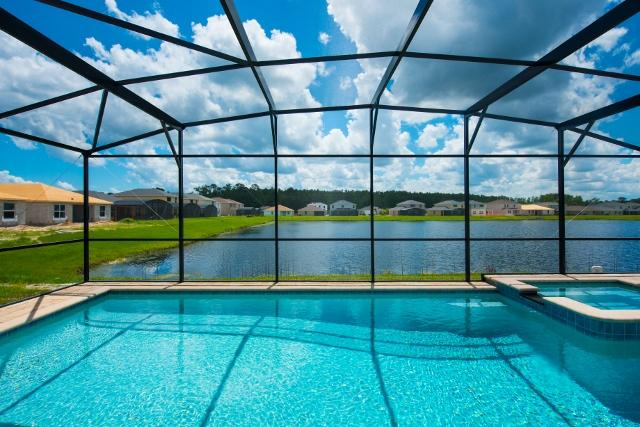 Swimming Pool - SUNRISE VALLEY with POOL/JACUZZI near DISNEY - Kissimmee - rentals