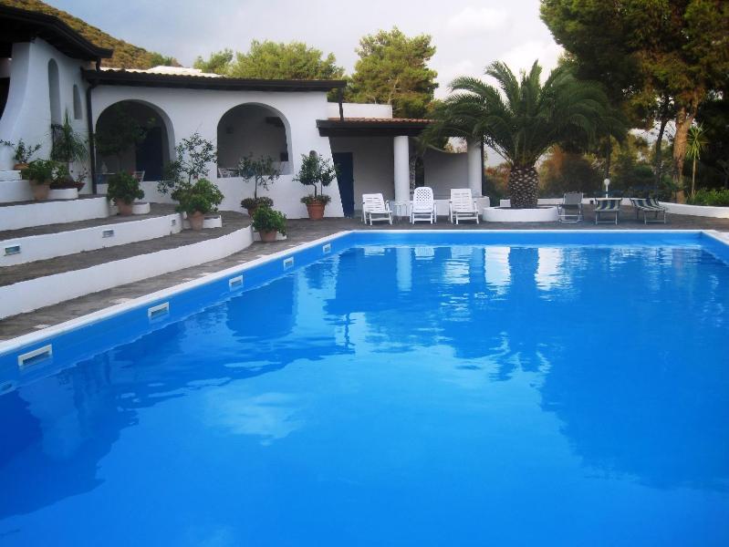 VILLA VULCANO: luxury typical Aeolian villa with private pool - Image 1 - Isola Vulcano - rentals